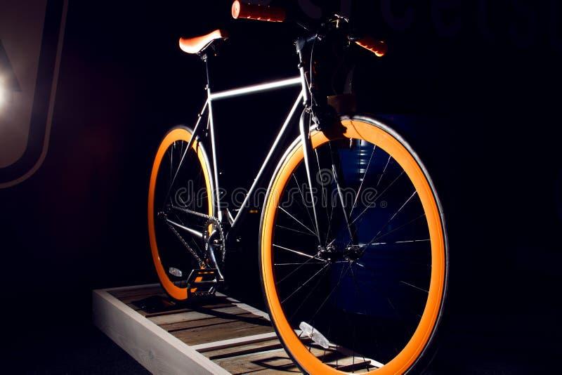 Классический велосипед города стоковое изображение