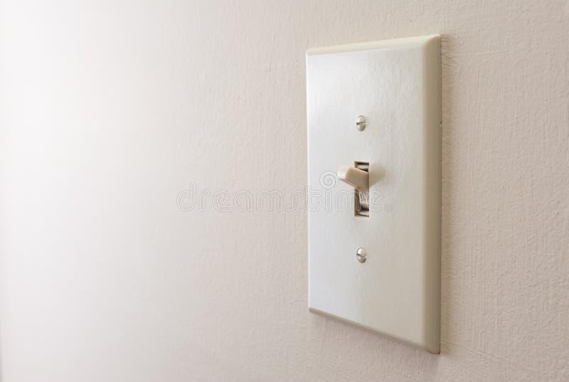 Классический выключатель стоковые фото
