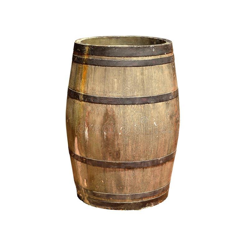 Классический деревянный бочонок стоковое фото rf