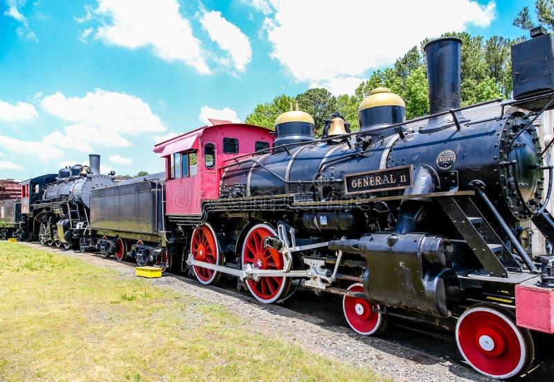 Классический старый поезд стоковые изображения