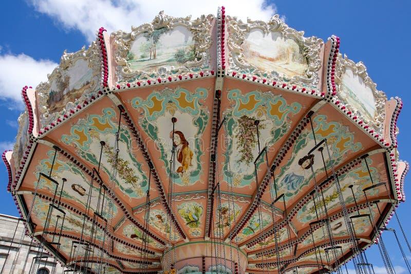 Классический carousel стоковое изображение rf