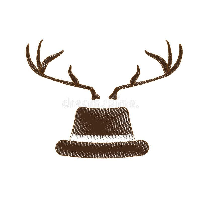 Download Классическое изображение значка шляпы Иллюстрация вектора - иллюстрации насчитывающей шлем, headdress: 81800263