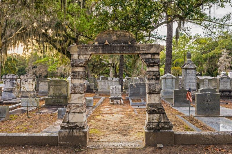 Кладбище Бонавентуры в саванне, Georgia стоковые фотографии rf