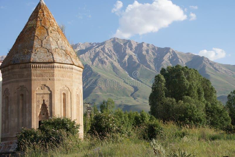 Кладбище и усыпальница Seljuk стоковое фото