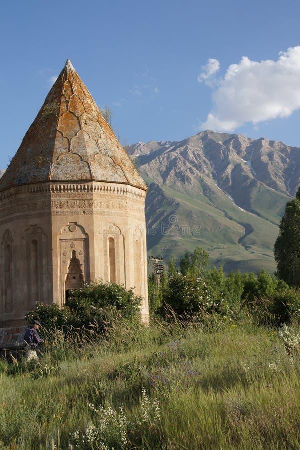 Кладбище и усыпальница Seljuk стоковая фотография
