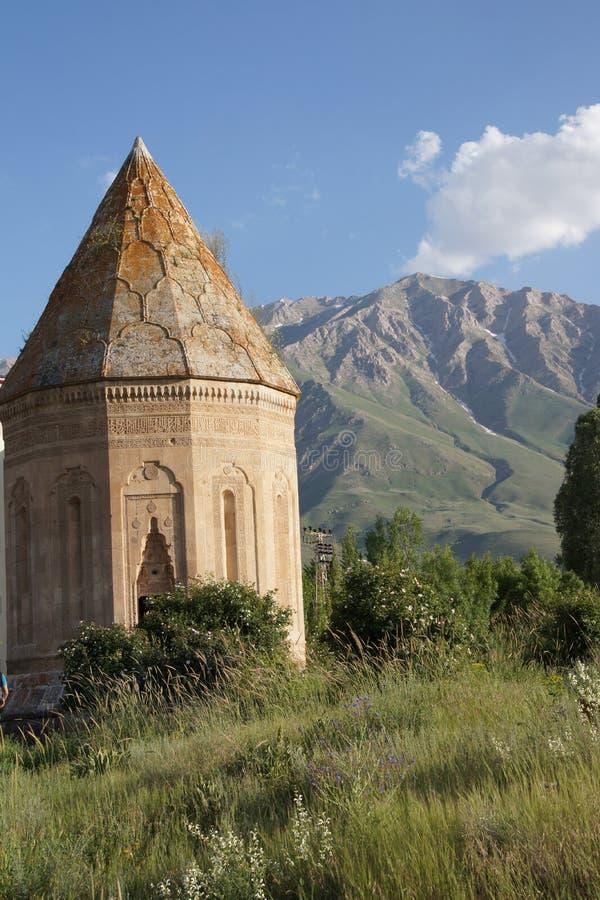Кладбище и усыпальница Seljuk стоковое фото rf