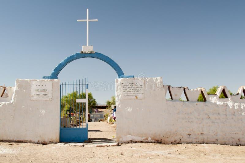 Кладбище на пустыне Atacama стоковые изображения