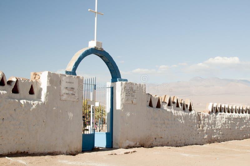 Кладбище на пустыне Atacama стоковое изображение rf