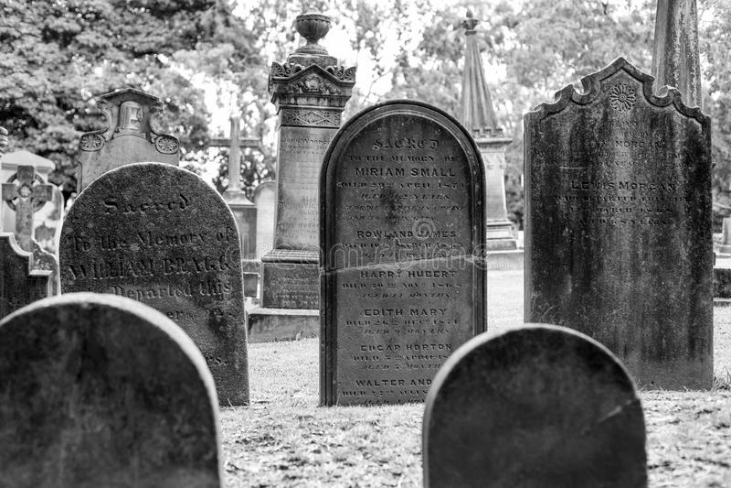Кладбище церков St Anne в Ryde, Австралии стоковые фото