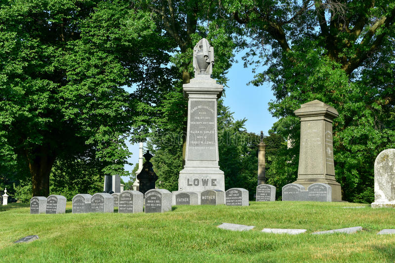 Кладбище Greenwood стоковое изображение