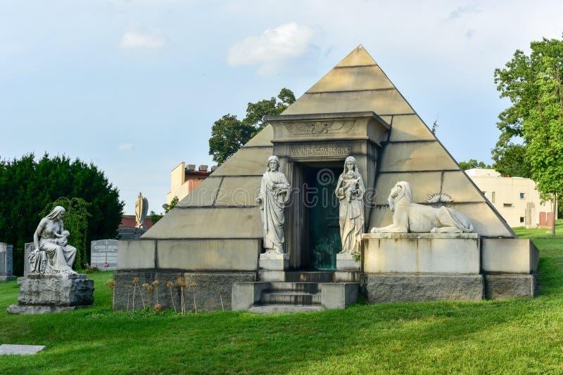 Кладбище Greenwood стоковая фотография rf