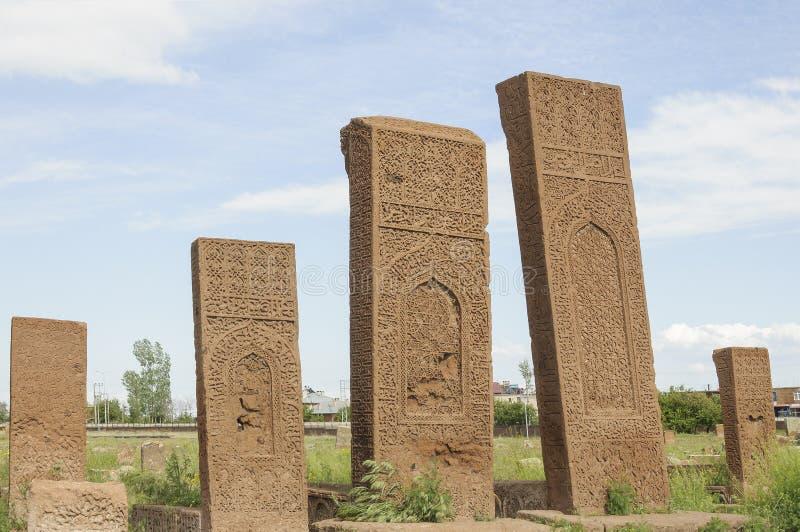 Кладбище Seljuks стоковое фото