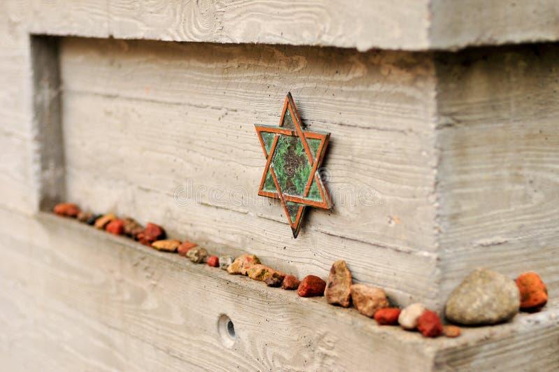 Кладбище Strasse гамбургера Grosse еврейское стоковое фото rf