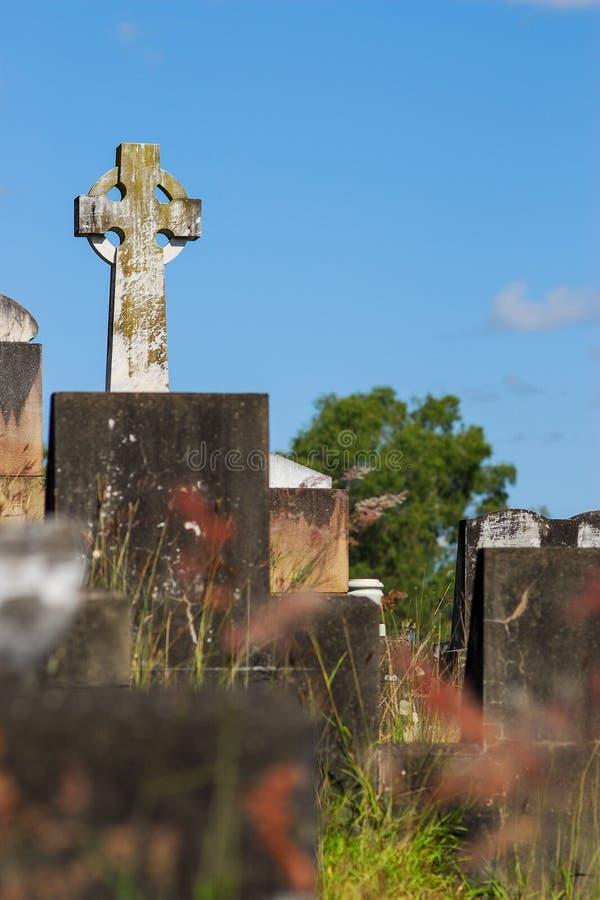 Кладбище Toowong стоковые фотографии rf
