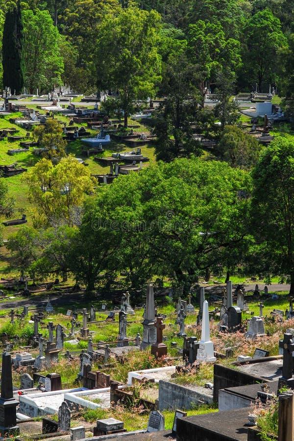 Кладбище Toowong стоковая фотография