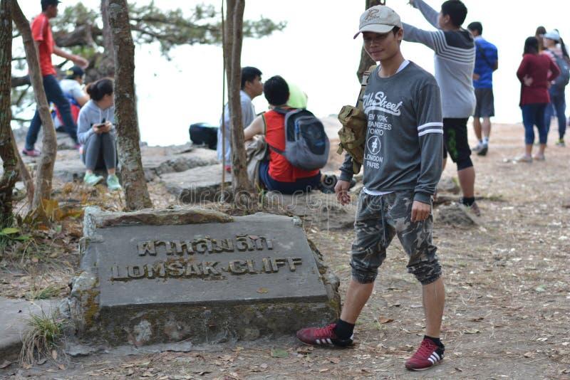 Клен, лист, Phukradueng, Loei стоковое фото rf