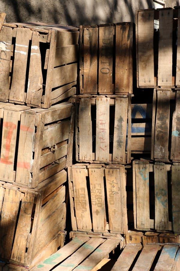 Клети Яблока стоковое фото
