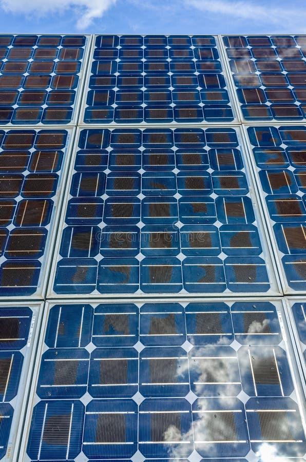 Клетки солнечной энергии стоковое изображение rf