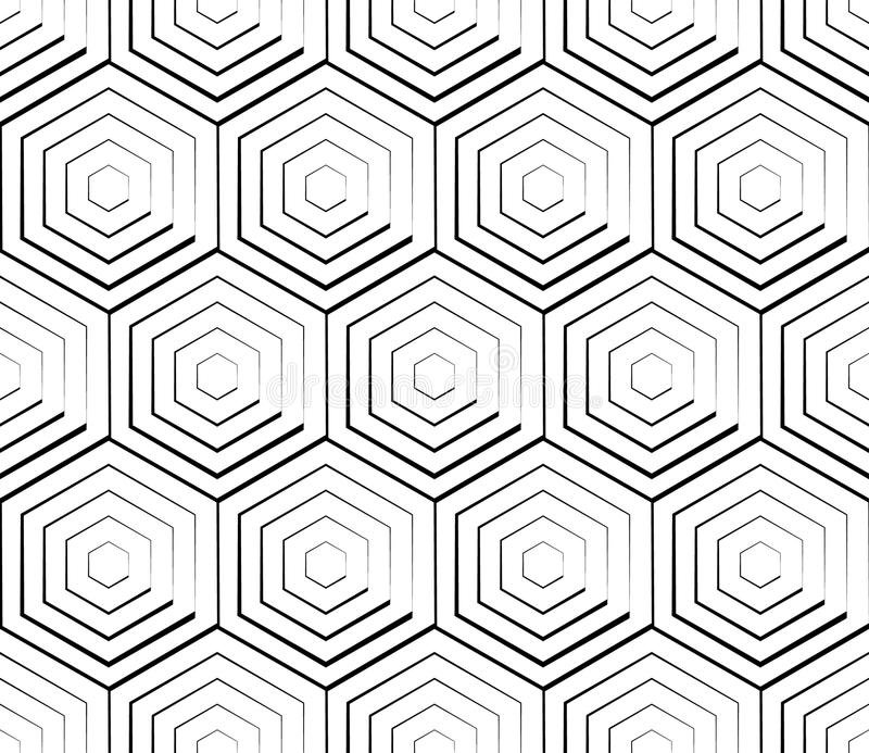 Download Клетчатая геометрическая картина, плавно Repeatable Абстрактное Mono Иллюстрация вектора - иллюстрации насчитывающей график, сетка: 81801816