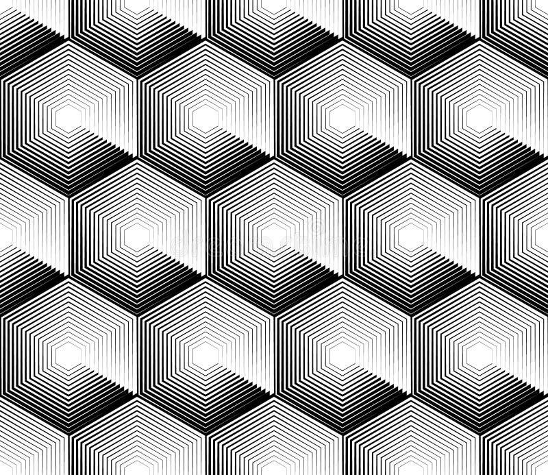 Download Клетчатая геометрическая картина, плавно Repeatable Абстрактное Mono Иллюстрация вектора - иллюстрации насчитывающей геометрия, конспектов: 81801835