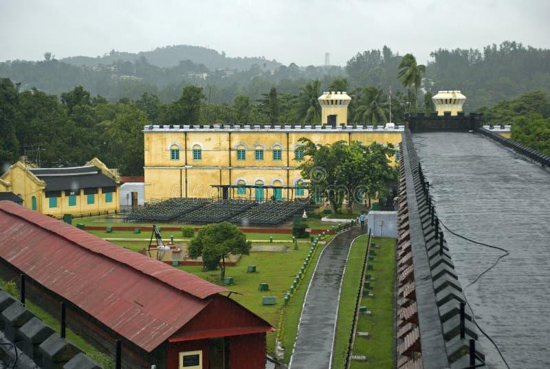 Клетчатая тюрьма, Port Blair, Andaman, Индия стоковое изображение