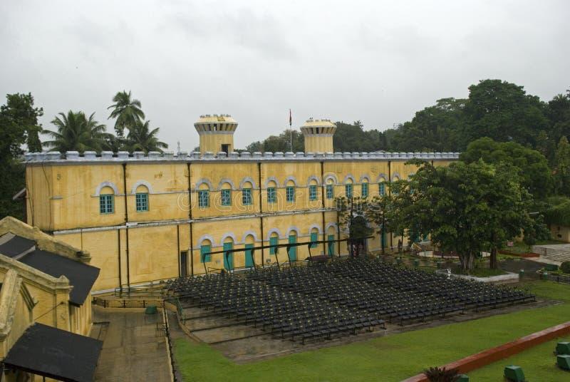 Клетчатая тюрьма, Port Blair, Andaman, Индия стоковое фото rf
