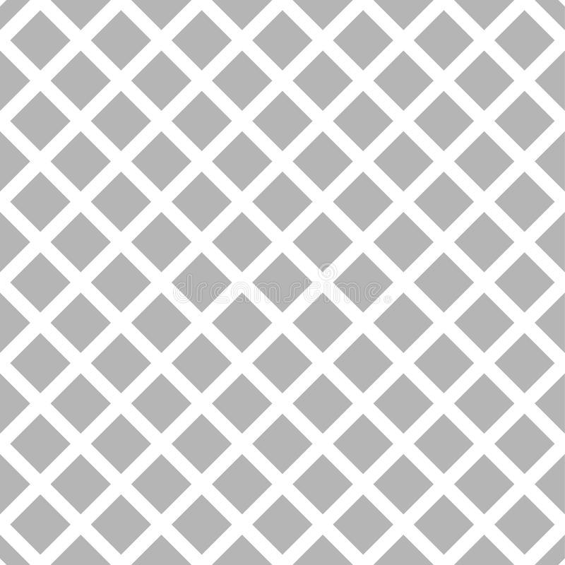 Download Клетчатый, картина решетки безшовная черно-белая Иллюстрация вектора - иллюстрации насчитывающей повторяющийся, картина: 81802796