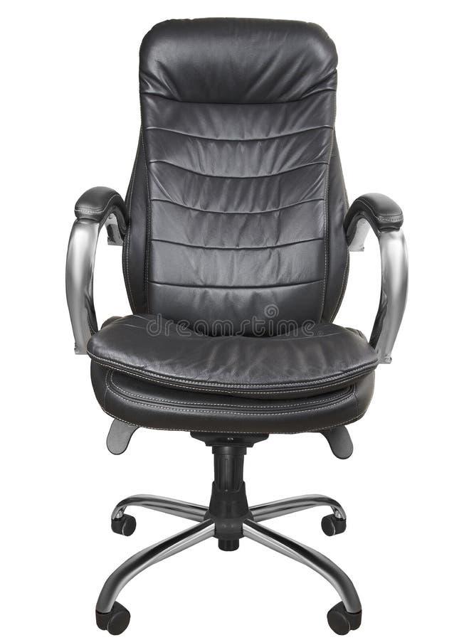 клиппирование черноты предпосылки кресла изолировало белизну путя офиса стоковые изображения rf