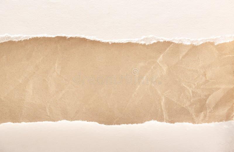 Клочковатые куски бумаги стоковая фотография rf