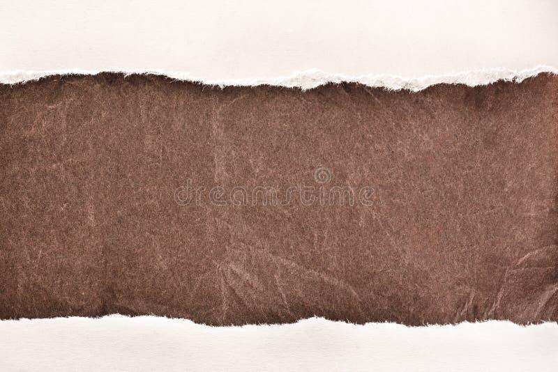 Клочковатые куски бумаги стоковые фотографии rf