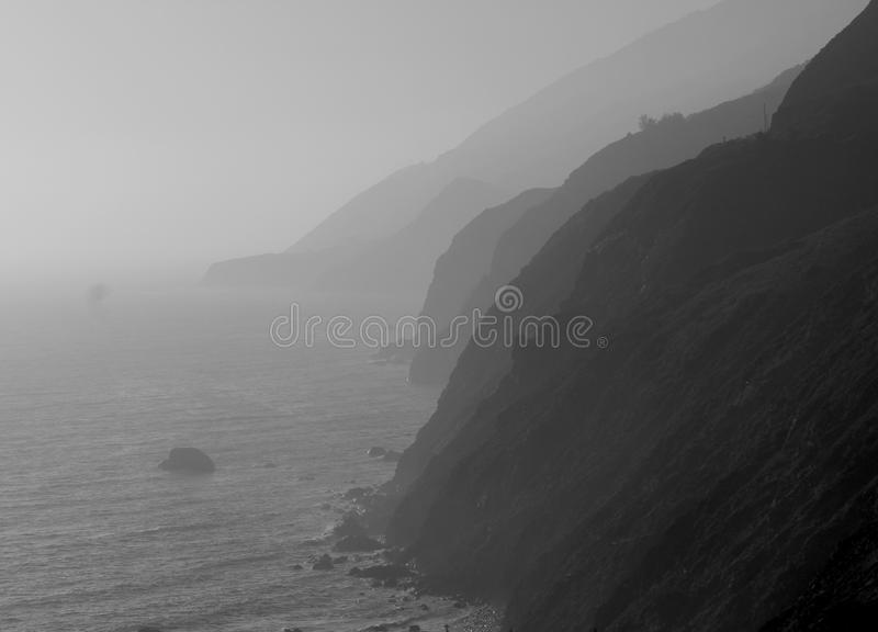 Клочковатый пункт Калифорния стоковая фотография rf