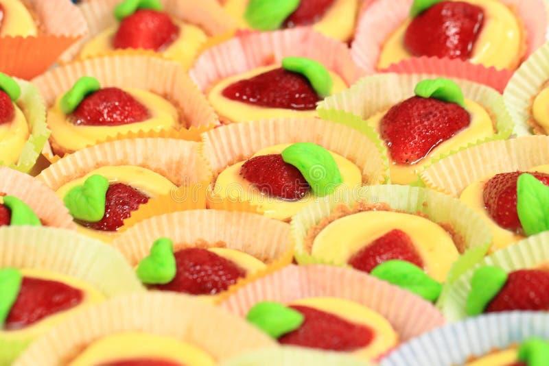 клубника десерта свежая стоковая фотография