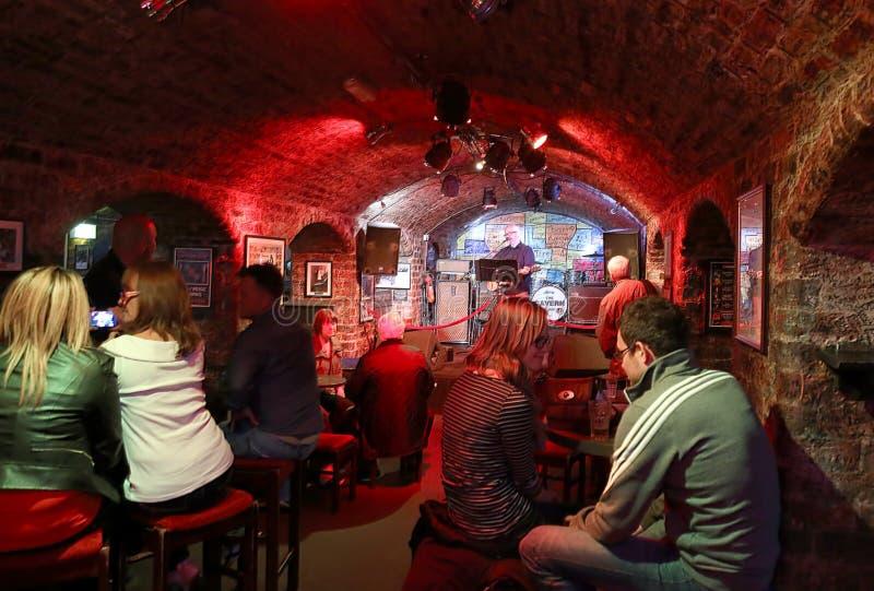 Клуб Cavern стоковое изображение