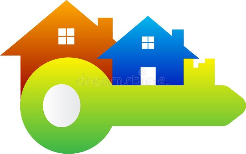 Ключевой дом бесплатная иллюстрация