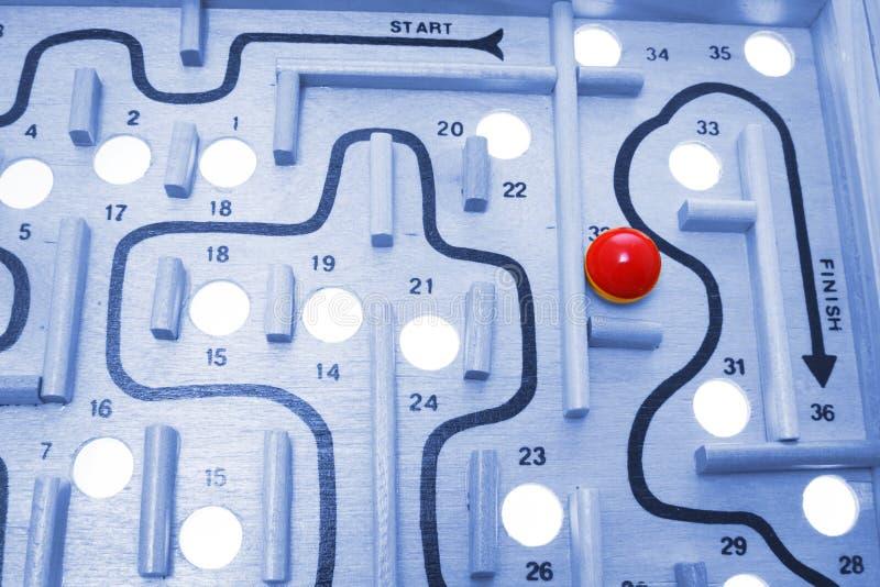 лабиринт игры стоковое изображение rf