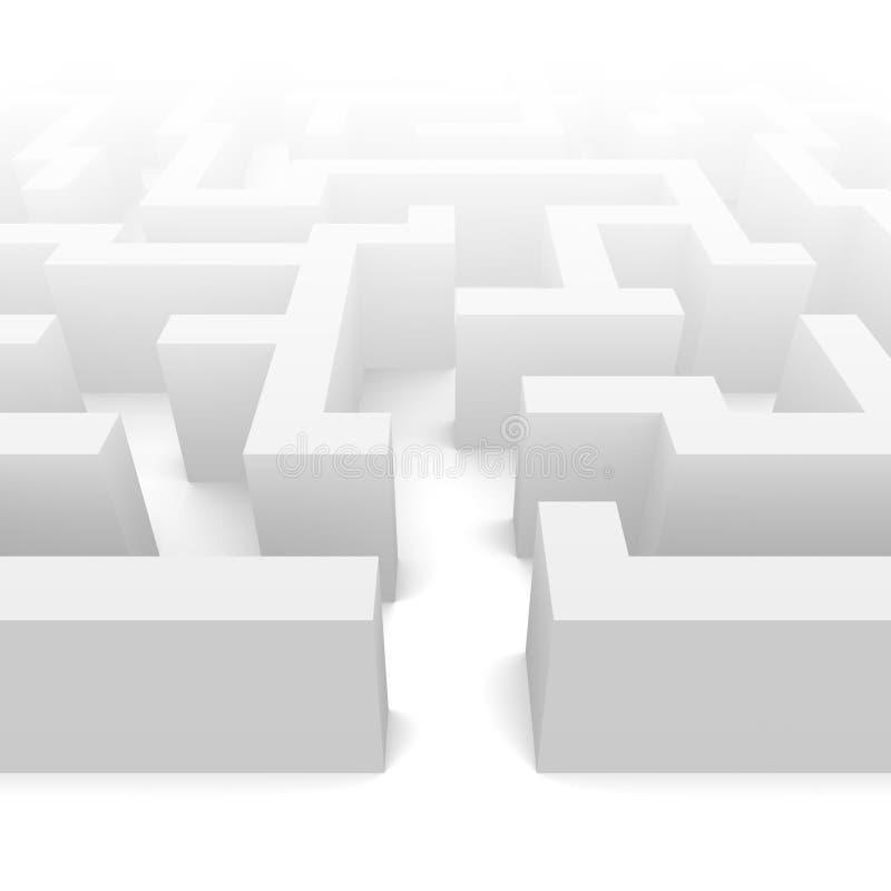 лабиринт тумана бесплатная иллюстрация