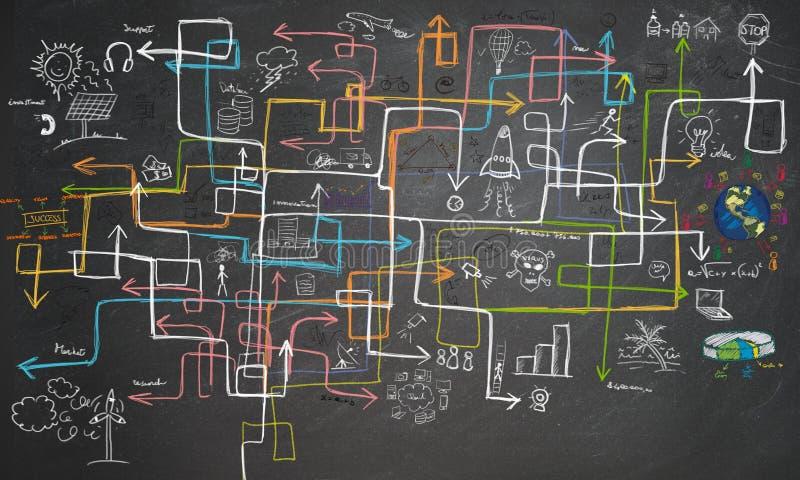 Лабиринт энергосберегающий стоковые изображения rf
