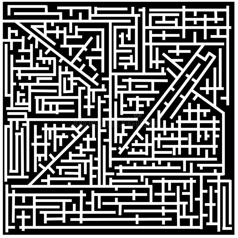 лабиринт иллюстрация вектора