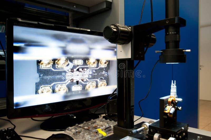 Лаборатория для брать данные стоковые фотографии rf