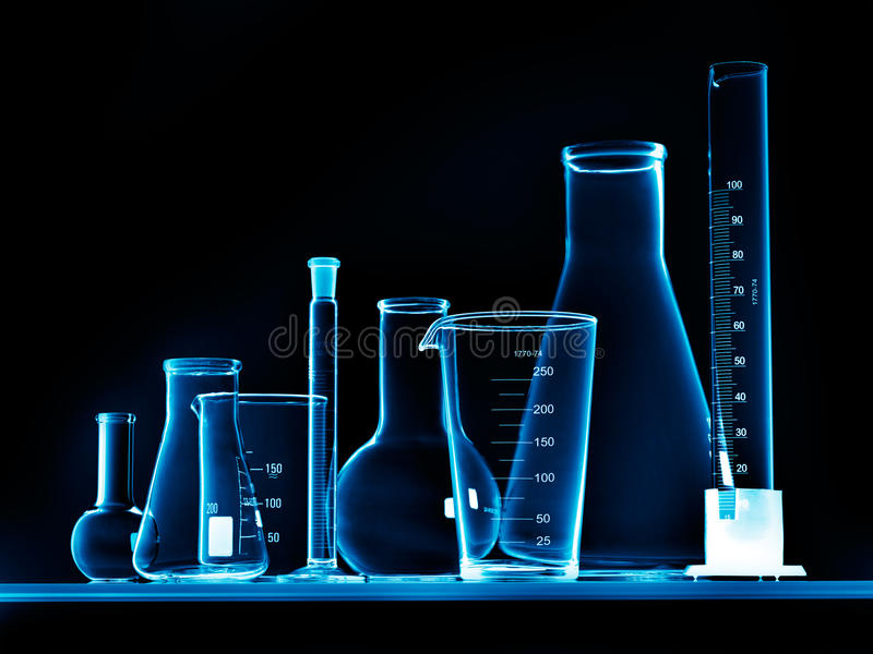 лаборатория оборудования стоковое фото rf