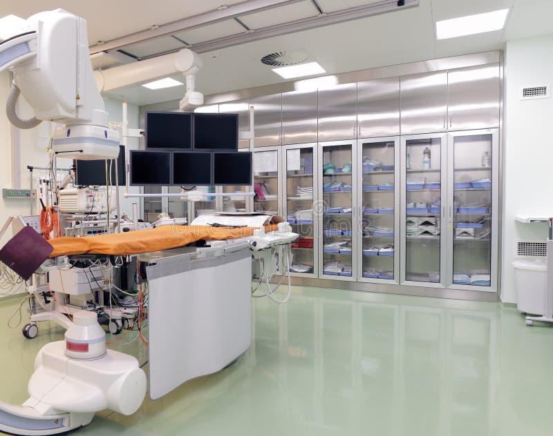 Лаборатория рентгеновского снимка работая стоковая фотография