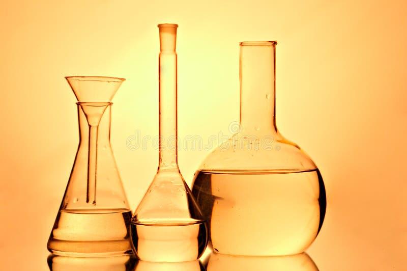 лаборатория склянок стоковая фотография