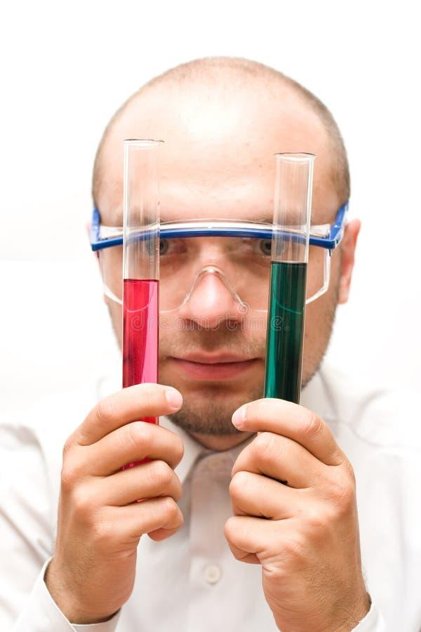 лаборатория эксперимента стоковые изображения