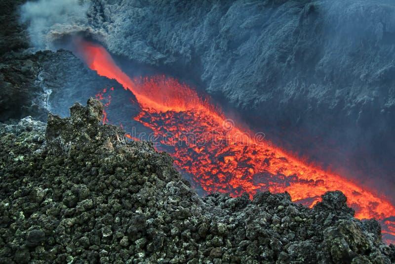 лава vulcan стоковые фотографии rf
