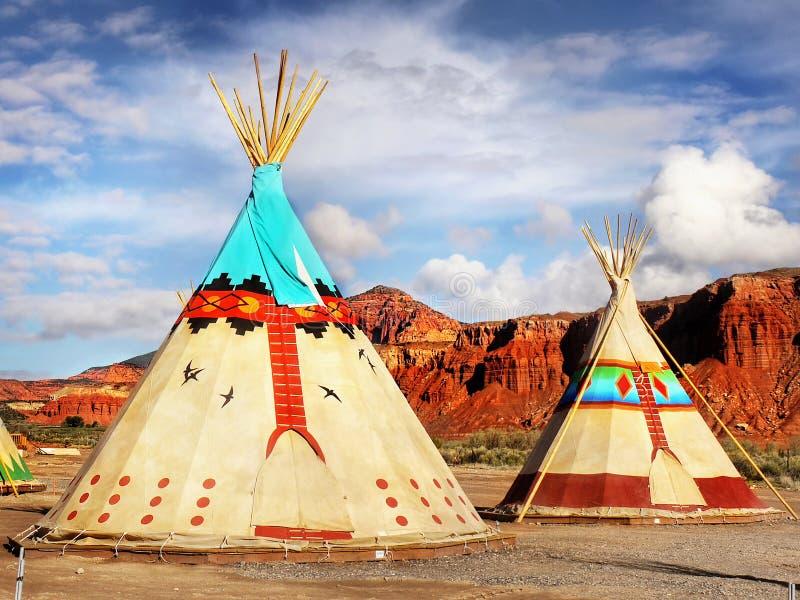 Лагерь шатра стоковые изображения rf