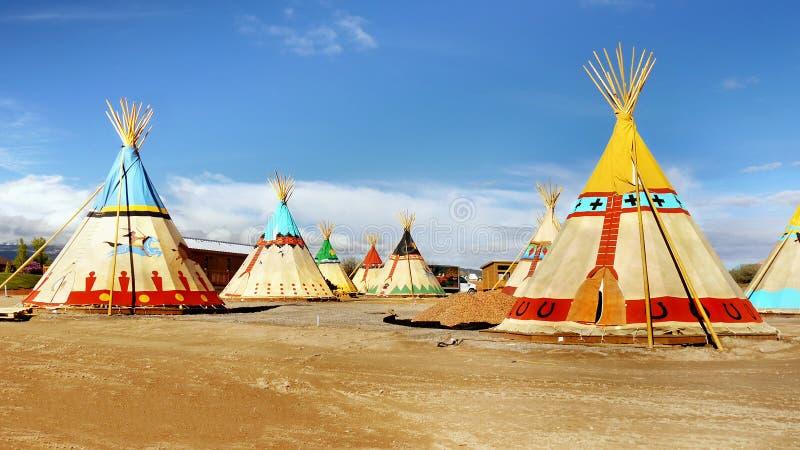 Лагерь шатра стоковое изображение