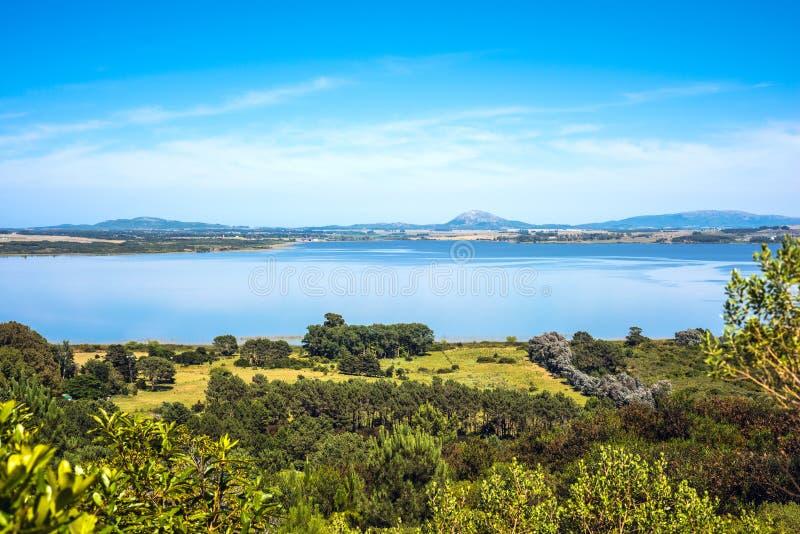 Лагуна вербы, Maldonado, Уругвай стоковые изображения rf