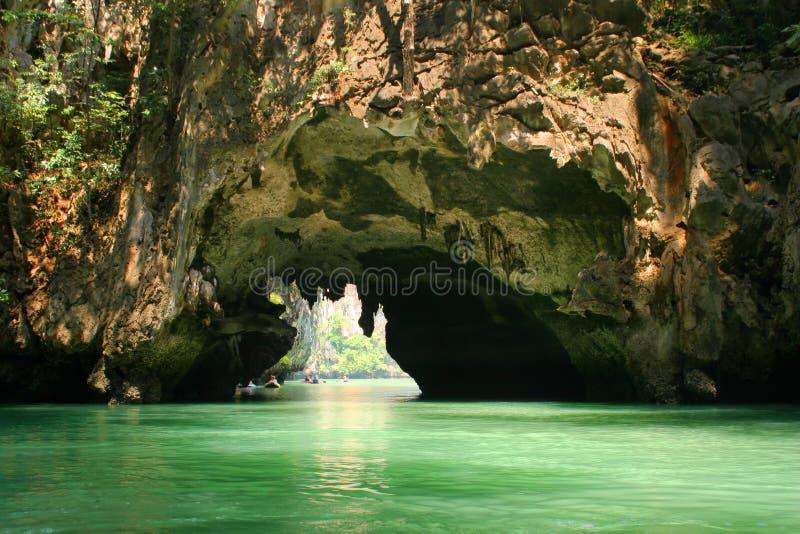 лагуна около phuket к стоковая фотография rf