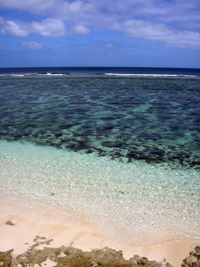 лагуна Тонга стоковые изображения