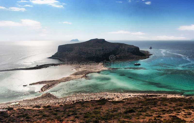 Лагуна Balos, Крит, Греция стоковая фотография